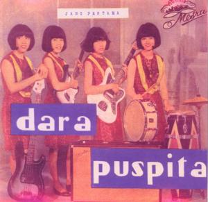 The cover of a Dara Puspita LP, Jang Pertana (Supplied)