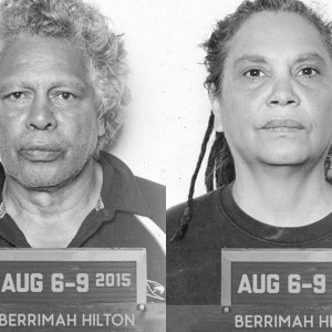 Ernie Dingo and Shellie Morris in Prison Songs