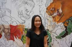 General Manager of Sàn Art, Tra Nguyen