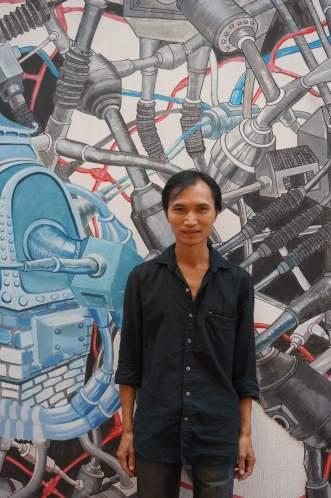 Vietnamese artist Nguyễn Quốc Dũng