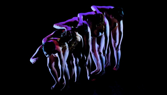 Women performing in Trilogy (Photo: Will Potts)